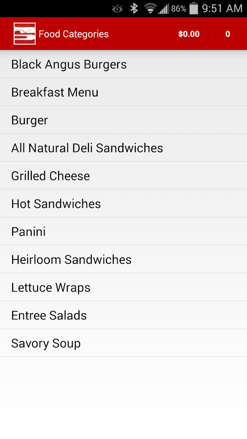 Waitless Mobile Food Ordering- screenshot