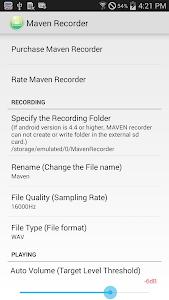 MAVEN Voice Recorder Pro v2.0.3