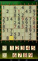 Screenshot of Sudoku Adventure