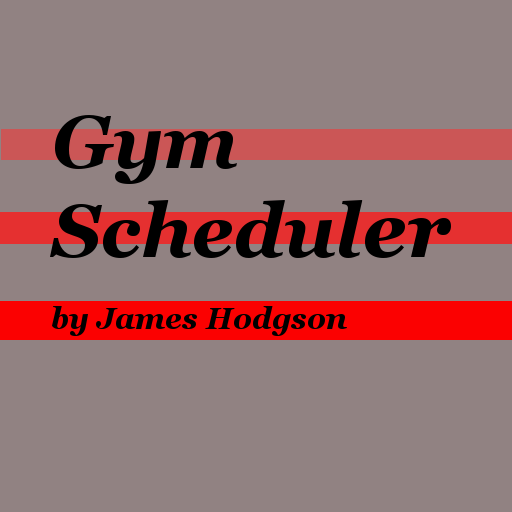 James Hodgson Gym Scheduler 健康 App LOGO-APP試玩