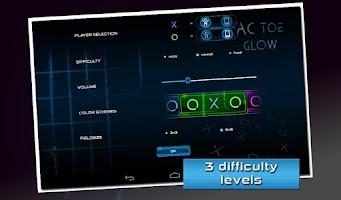 Screenshot of Tic Tac Toe Glow