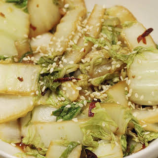 Hot & Sour Chinese Cabbage.