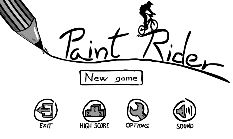 Paint Rider- screenshot