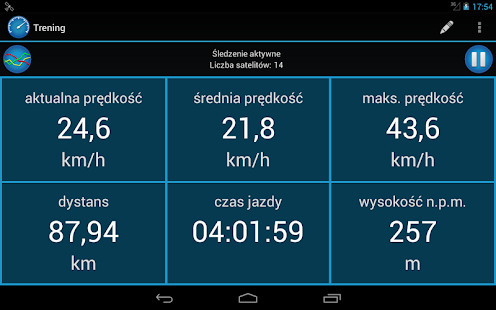 CycleDroid – licznik rowerowy - screenshot thumbnail