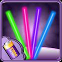 Long Laser Battery Widget