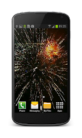 Screenshot of Fireworks Video Wallpaper Free