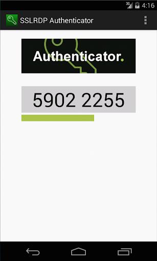 SSLRDP Authenticator