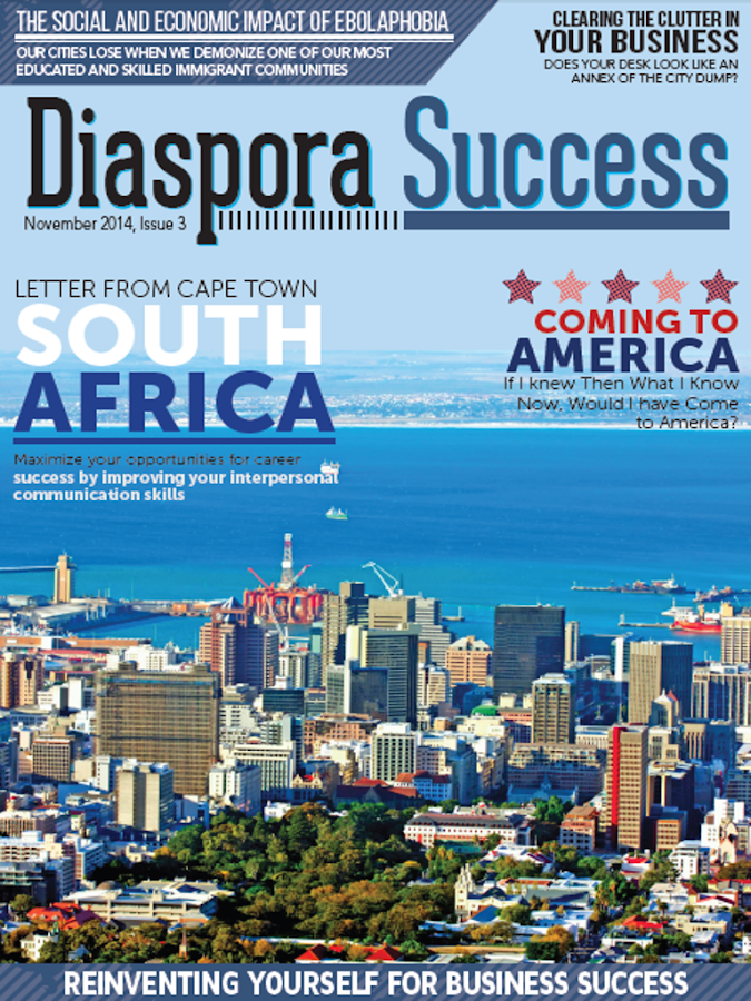 Diaspora Success Magazine- screenshot