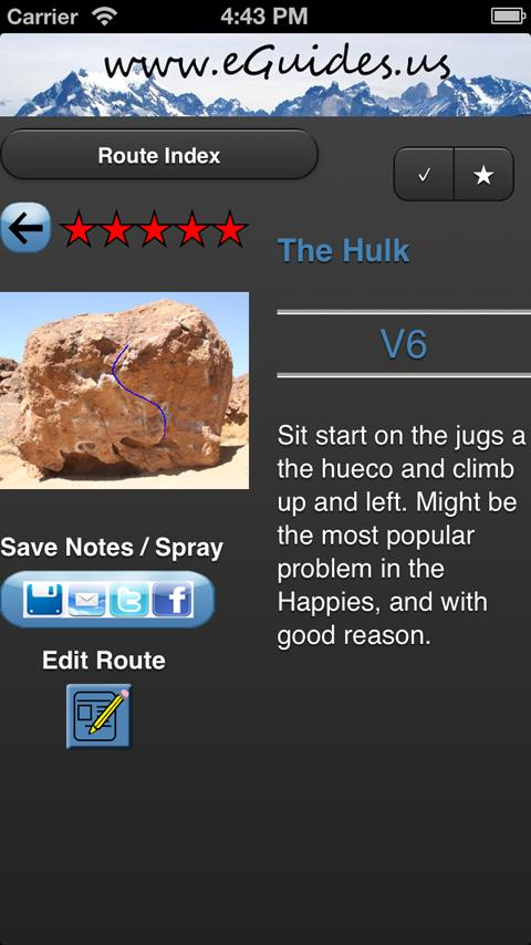 eGuides: Happy Boulders - screenshot