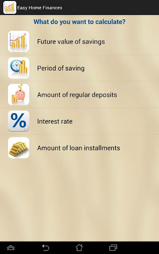 Easy Loans and Savings
