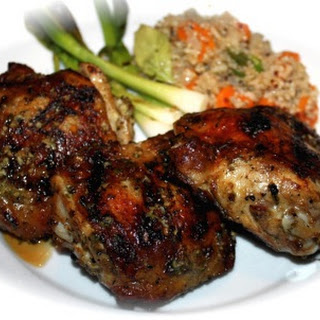 Chicken Thigh Recipe with Spicy Asian Flavors.