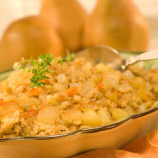 Sauteed Pear & Apple Stuffing Recipe