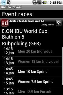Biathlon sports- screenshot thumbnail