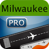 Milwaukee Airport+Flight Track
