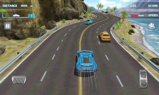 3D 狂飆賽車 - Turbo Driving Racing