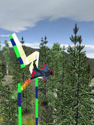Wingsuit Infinity Flyer screenshot