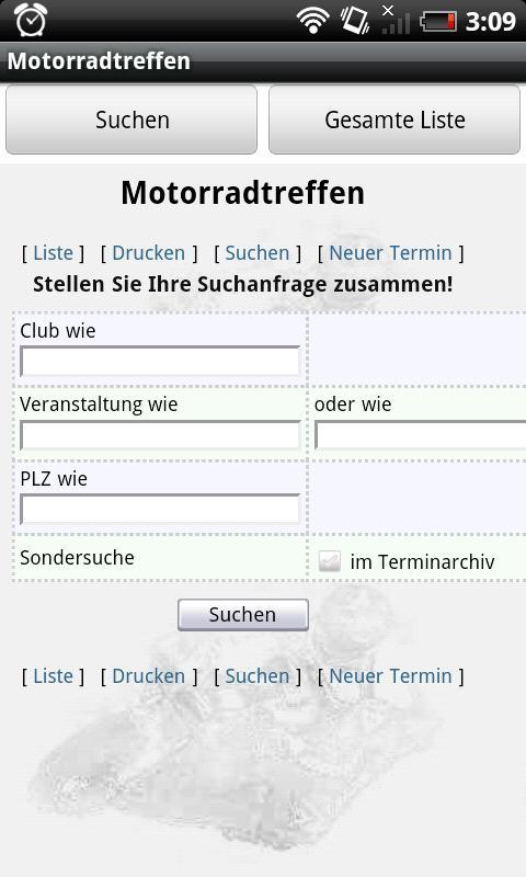 Motorradtreffen - screenshot