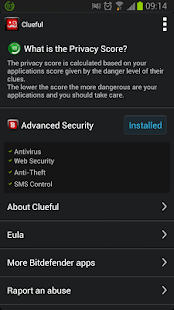 Clueful Privacy Advisor - screenshot thumbnail