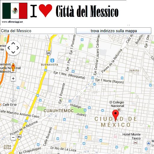 Ciudad de Mexico maps