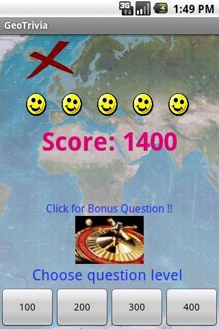 Geography Trivia Amazing - screenshot