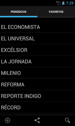 Periódicos y revistas México