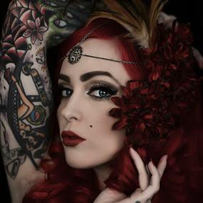 Krystal by Tina Marie - People Body Art/Tattoos ( fashion, woman, tattoos, art, artistic, beauty, tattoo, , person, people )