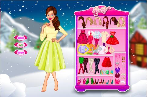 Christmas Shopping Dress Up - screenshot