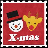 Christmas Letter atom theme
