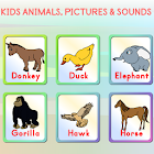 Kids Animals Pictures & Sounds icon