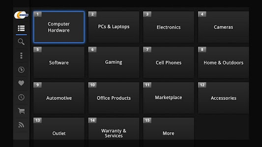 Newegg for Google TV screenshot 17