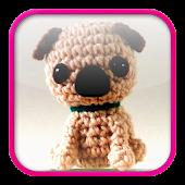 Pug Amigurumi Crochet Pattern