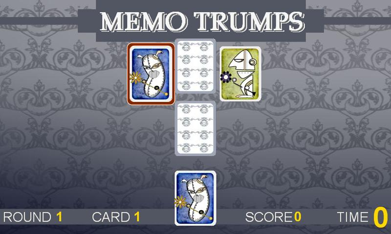 Memo Trumps- screenshot