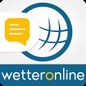 Wetter Ticker - Unwetter App icon
