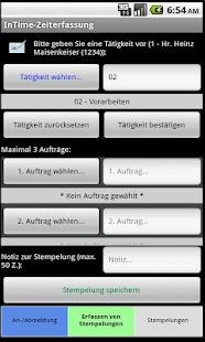 InTime-Zeiterfassung- screenshot thumbnail