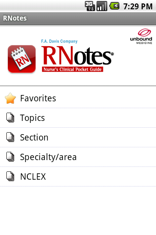 RNotes - screenshot