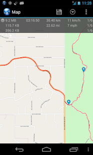 Ultra GPS Logger Lite- screenshot thumbnail