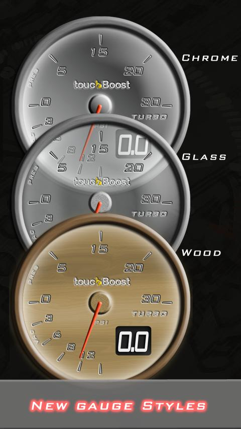 touchBoost: Car Turbo- screenshot