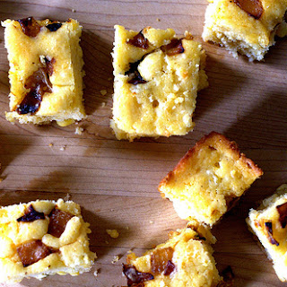 Caramelized Onion and Goat Cheese Cornbread.