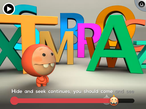 3D ABC Alphabet Read Along App