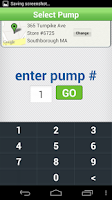 Screenshot of Cumberland Farms SmartPay