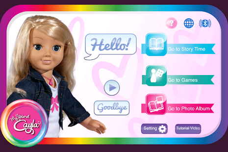 My friend Cayla App (EN UK)- screenshot thumbnail