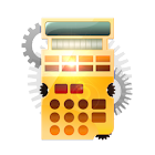 Steampunk Calculator Lite HD icon