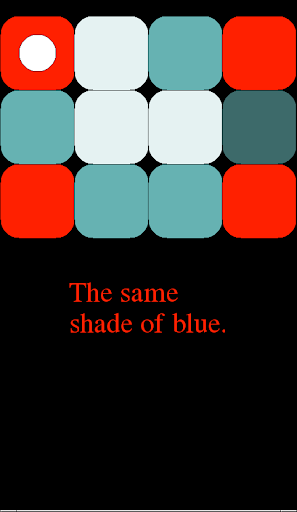The Same Shade of Blue