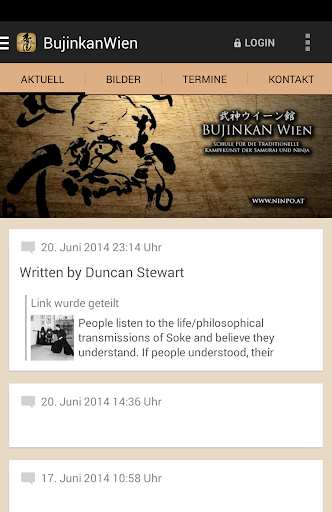 Bujinkan Wien Dojo