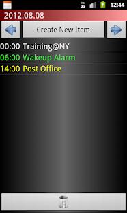 Scheduler - screenshot thumbnail