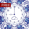 FREE Beautiful Flower Clock