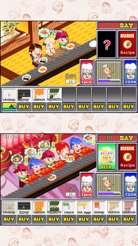 Sushi Tycoon Lite - screenshot