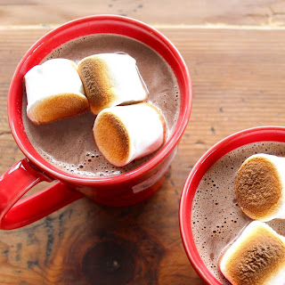 Spiked (or Not!) Nutella Hot Chocolate.