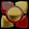 Next Launcher Tema de ouro icon
