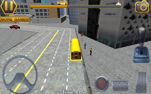 校車駕駛3D模擬器